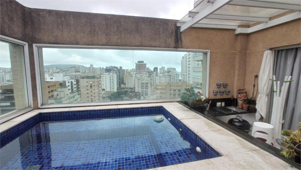 Venda Cobertura Santos Boqueirão REO589943 1