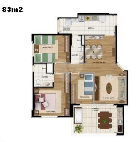 Venda Apartamento São Paulo Jardim Brasil (zona Sul) REO73724 21