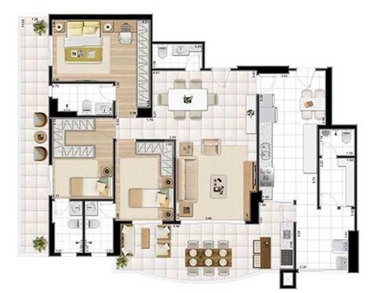 Apartamento 134m²
