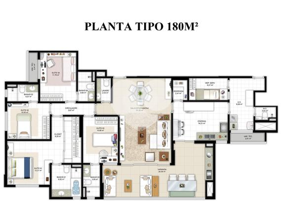 Apartamento 180m²