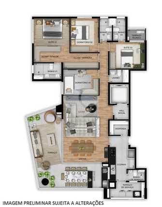 Apartamento 195m²