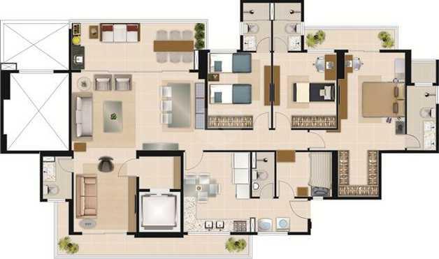 Apartamento 154m²
