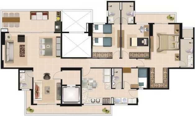 Apartamento 158m²