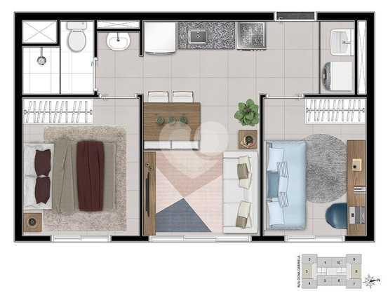 Apartamento 36m²