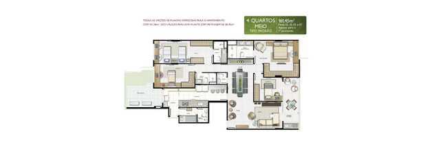 Apartamento 161m²