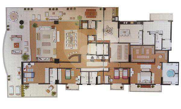 Apartamento 789m²
