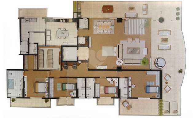 Apartamento 493m²
