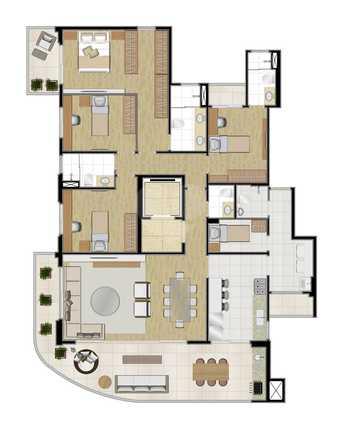 Apartamento 186m²
