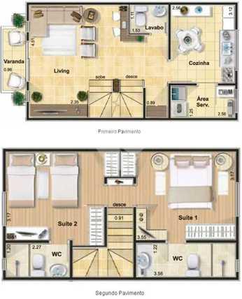 Casa 124m²