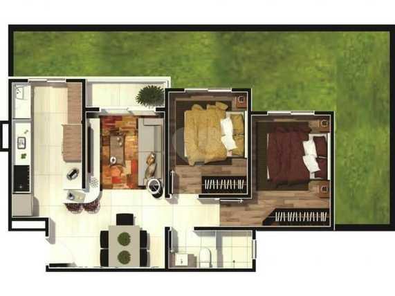 Apartamento 56m²