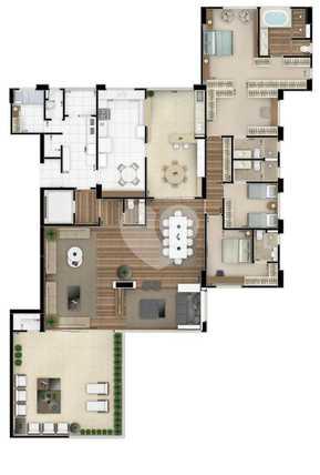 Apartamento 366m²