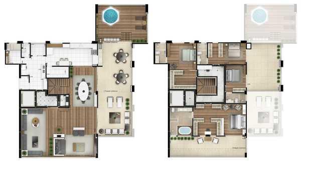 Apartamento 559m²