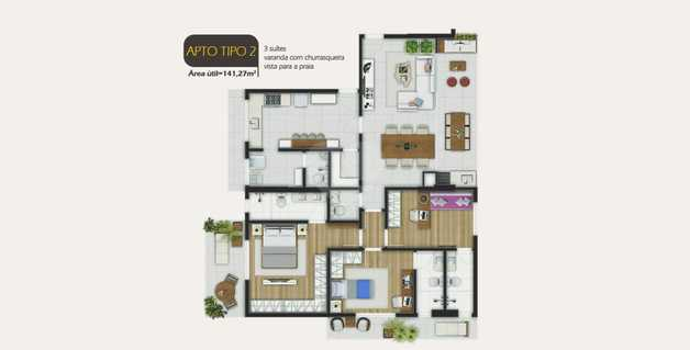 Apartamento 141m²