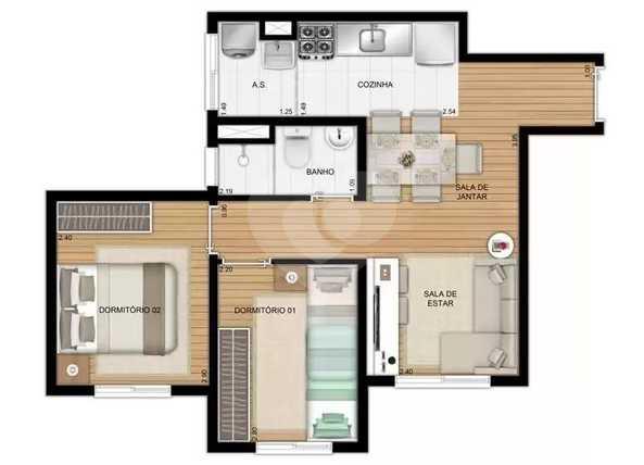 Apartamento 41m²