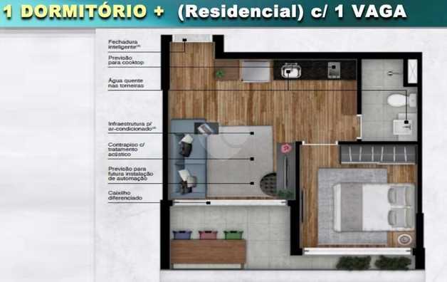 Apartamento 51m²