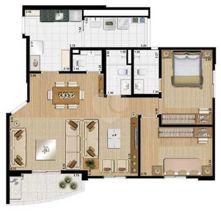 Apartamento 89m²