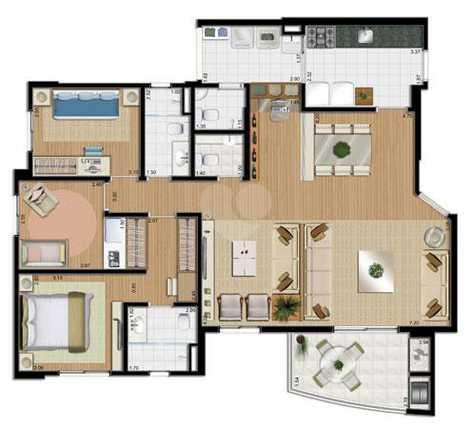 Apartamento 116m²