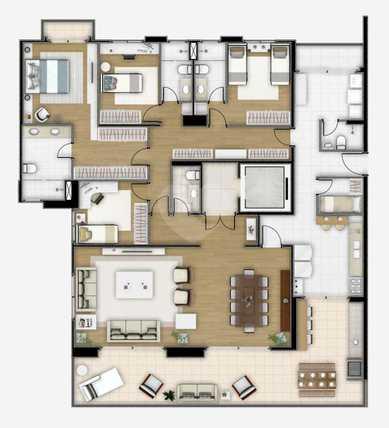 Apartamento 223m²