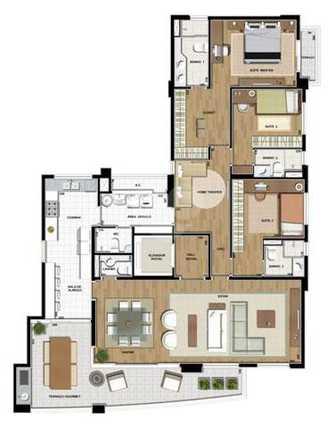 Apartamento 189m²