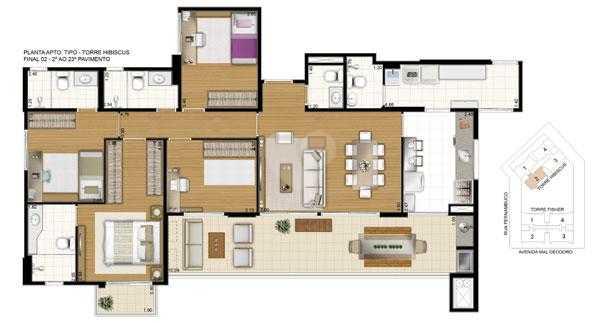 Apartamento 130m²