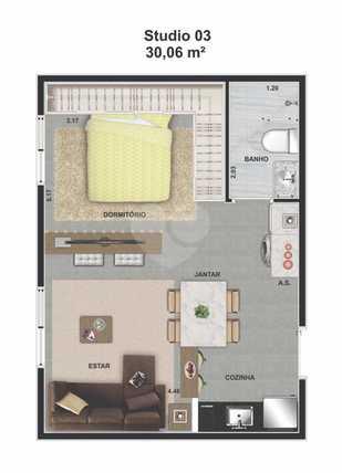 Apartamento 30m²