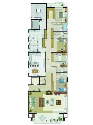 Apartamento 234m²