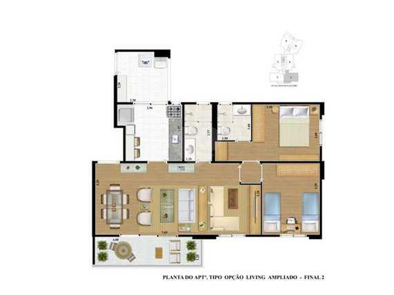 Apartamento 78m²