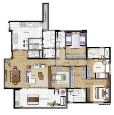 Apartamento 155m²
