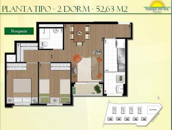 Apartamento 52m²