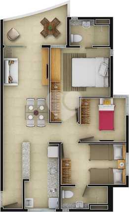 Apartamento 70m²