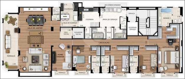 Apartamento 315m²
