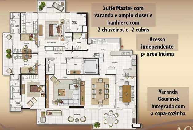 Apartamento 243m²