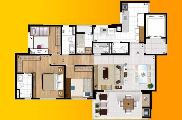 Apartamento 111m²