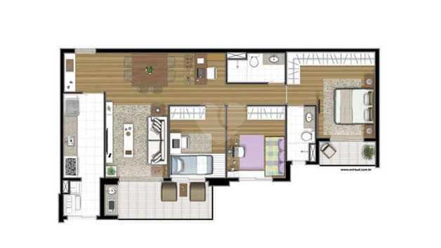 Apartamento 94m²