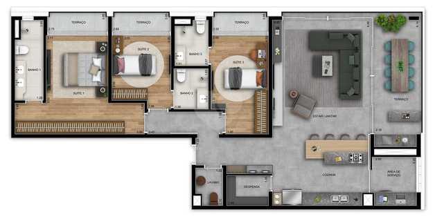 Apartamento 139m²