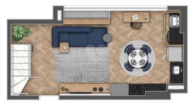 Apartamento 85m²