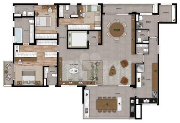Apartamento 227m²