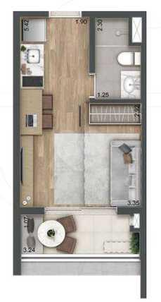Apartamento 24m²