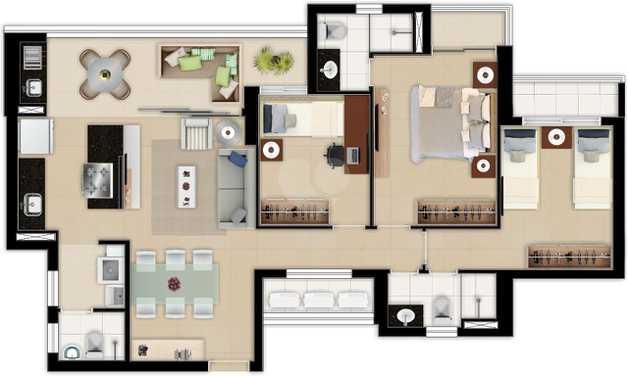 Apartamento 95m²