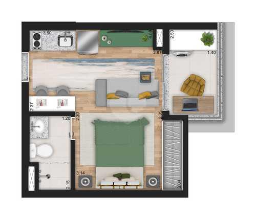Apartamento 29m²