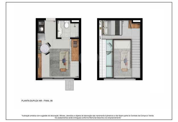 Apartamento 33m²