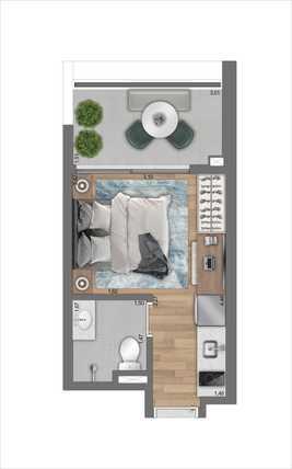 Apartamento 22m²