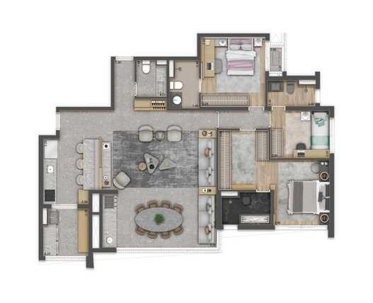 Apartamento 131m²