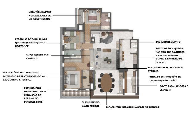 Apartamento 132m²