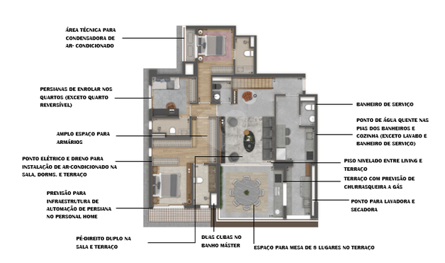 Apartamento 209m²