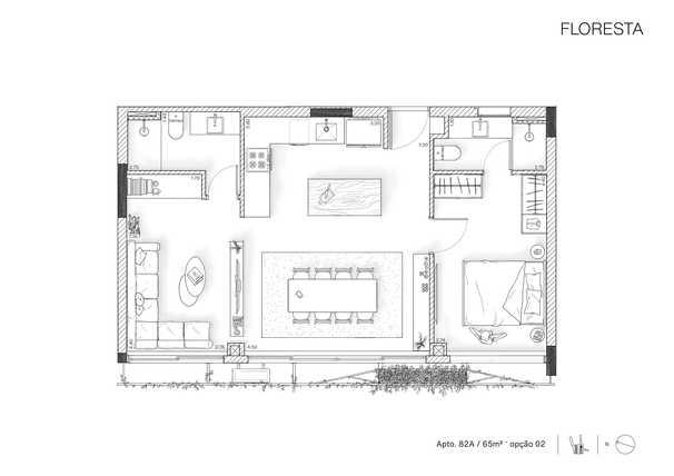 Apartamento 66m²
