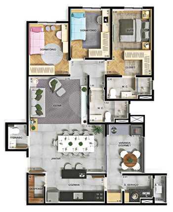 Apartamento 105m²