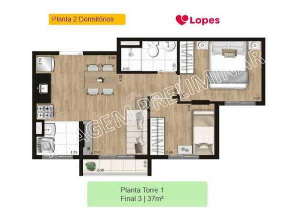 Apartamento 37m²