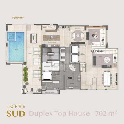 Apartamento 702m²