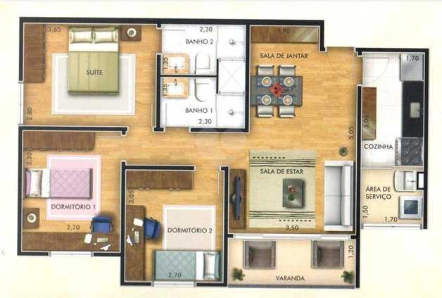 Apartamento 73m²